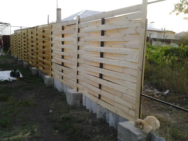 Забор своими руками ремонт 81