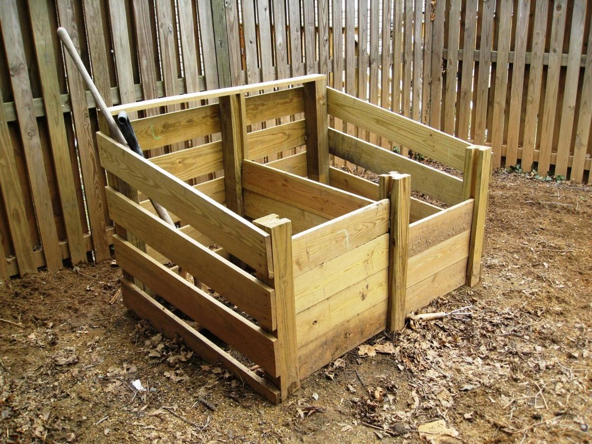 Как сделать компостный ящик из поддонов