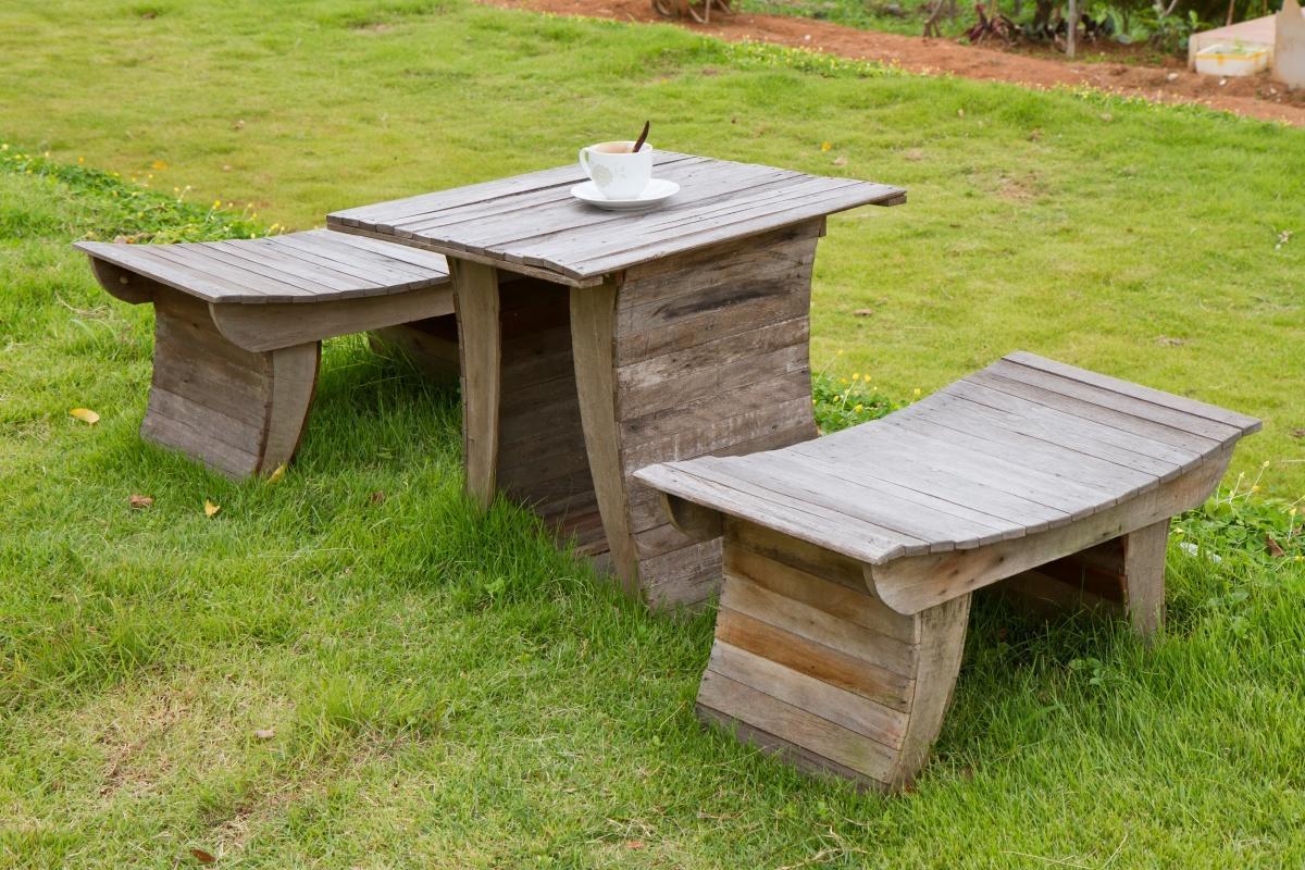 Садовая мебель своим и руками 858
