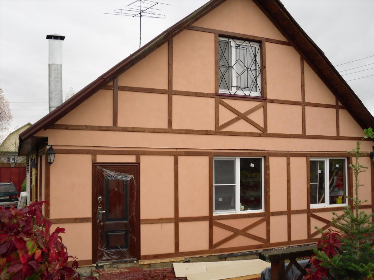 Чем дешевле отделать фасад дома