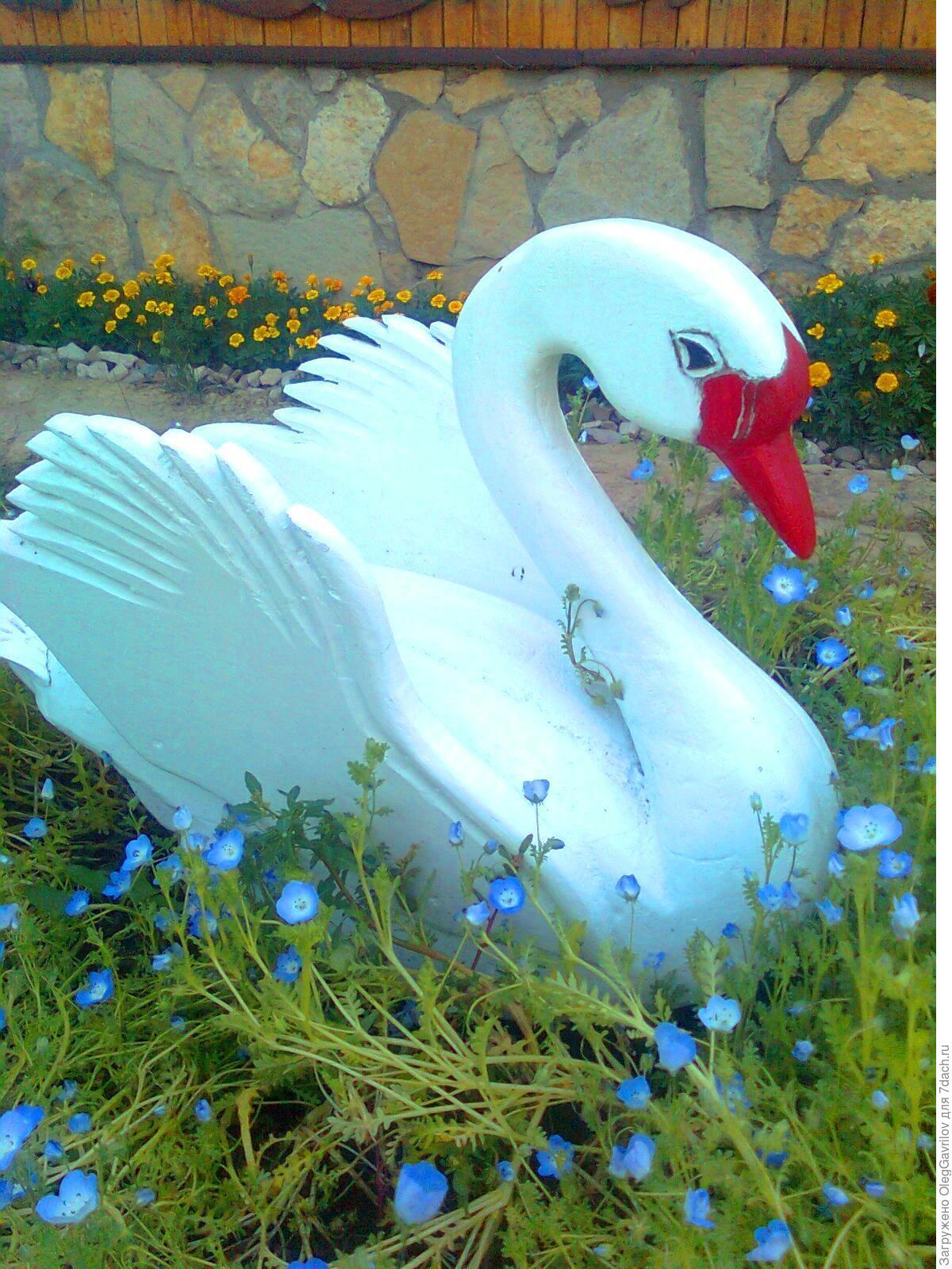 Кашпо лебедь своими руками Лебедь мастер класс 83