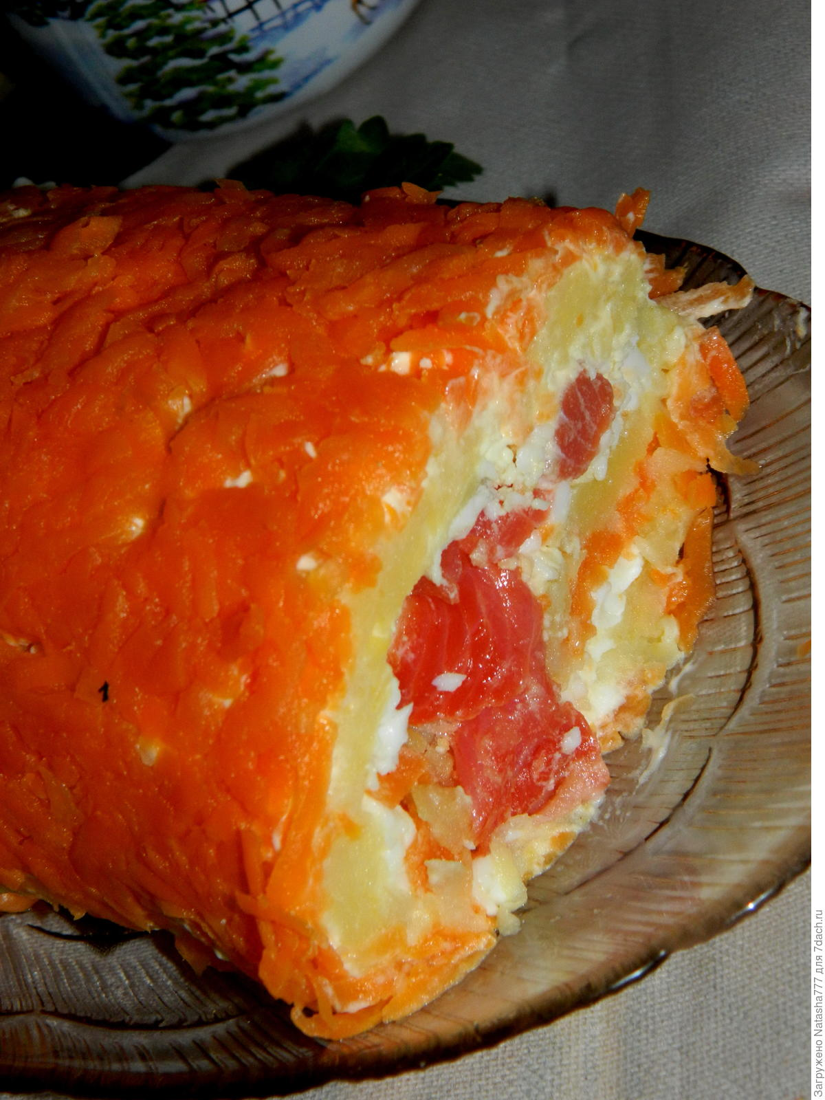 Салат рулет фото рецепт пошаговый