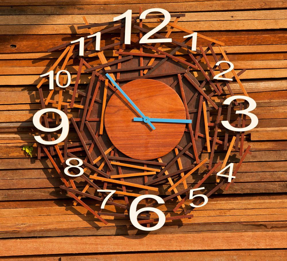 Как самим сделать настенные часы своими руками7