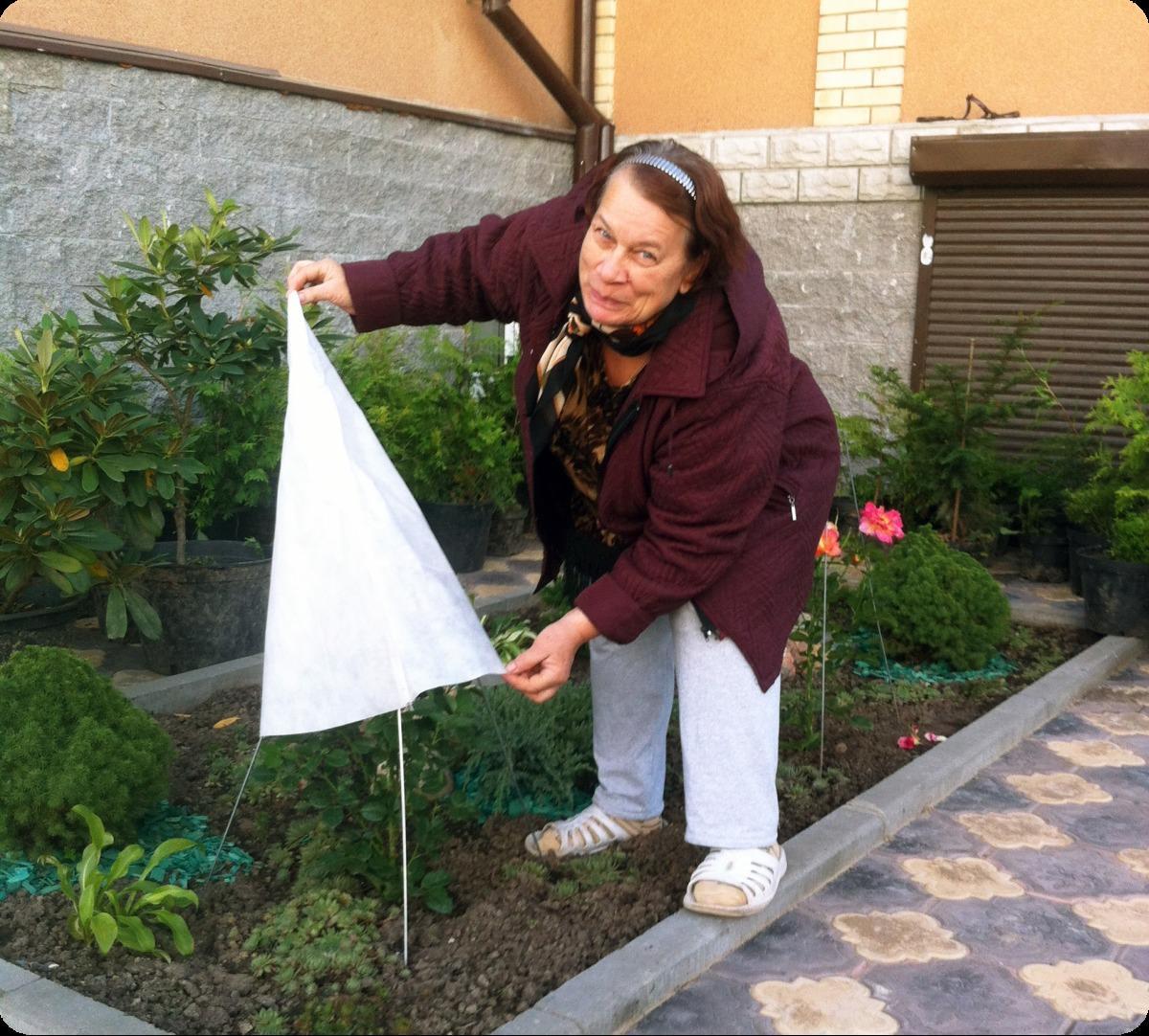 Для укрытия растений своими руками 84
