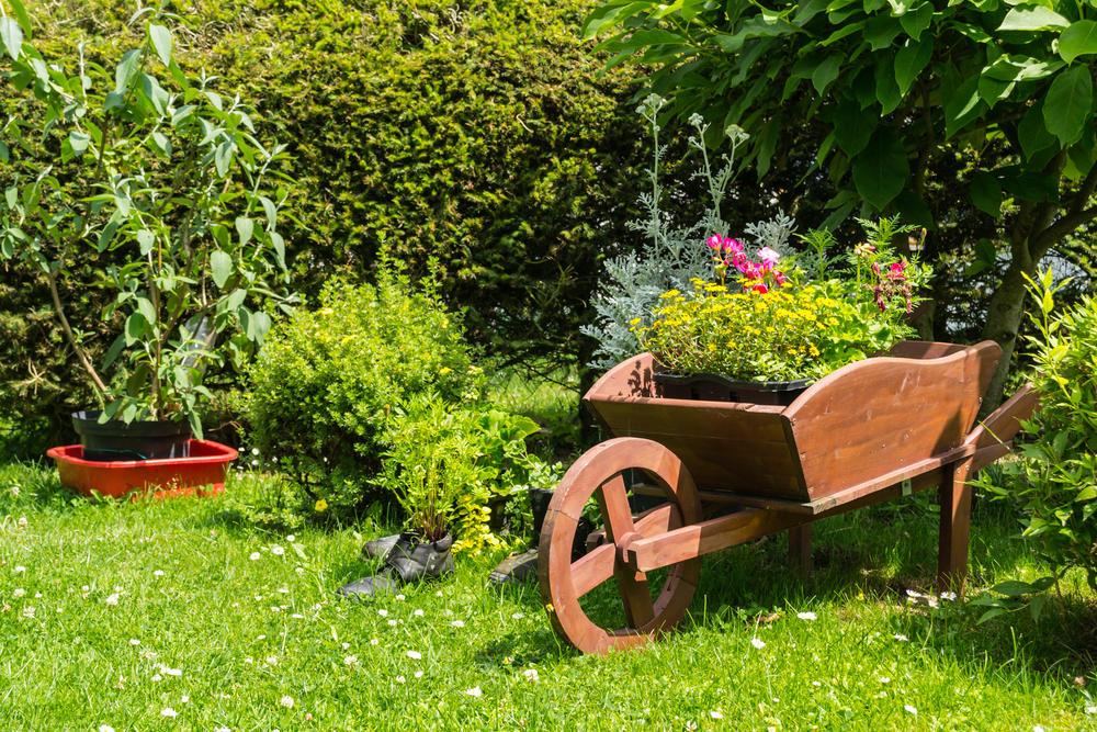 Тележка в саду своими руками 30