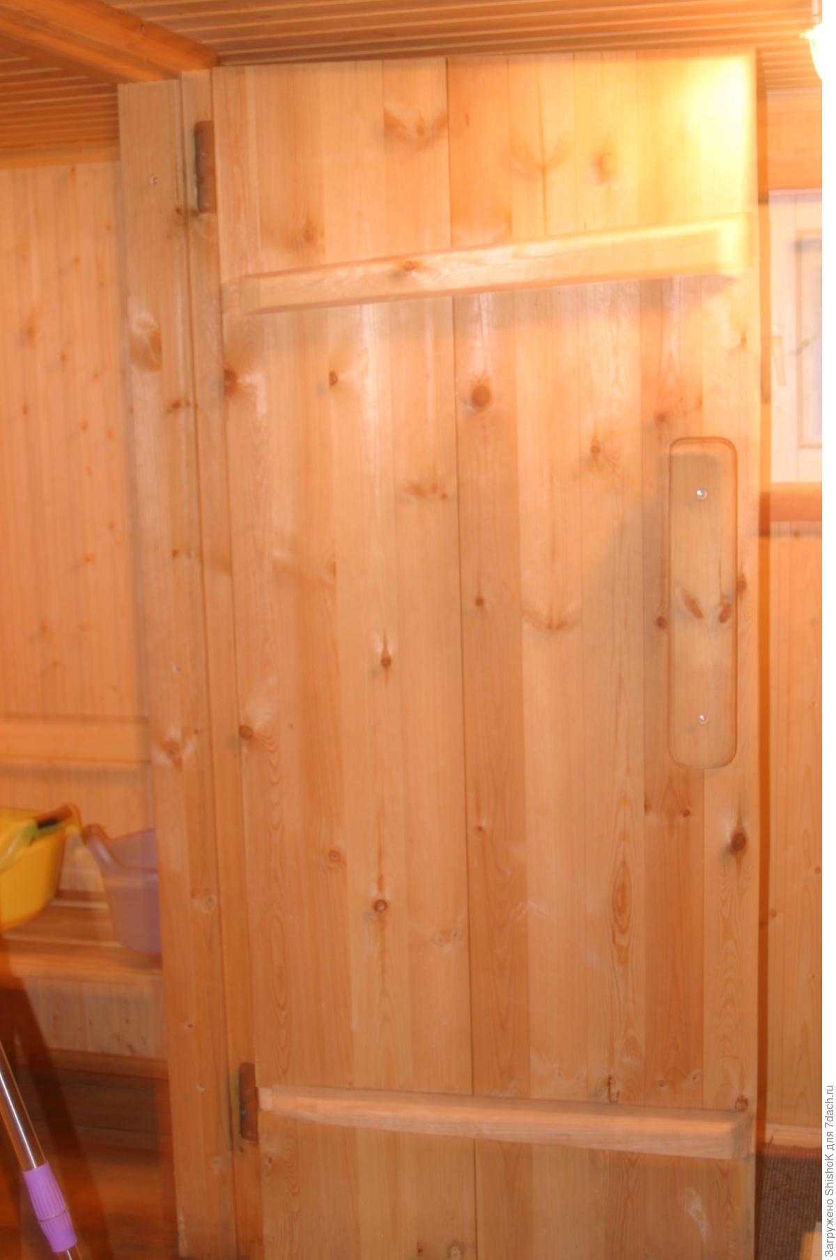 Дверь для бани из вагонки своими руками 19