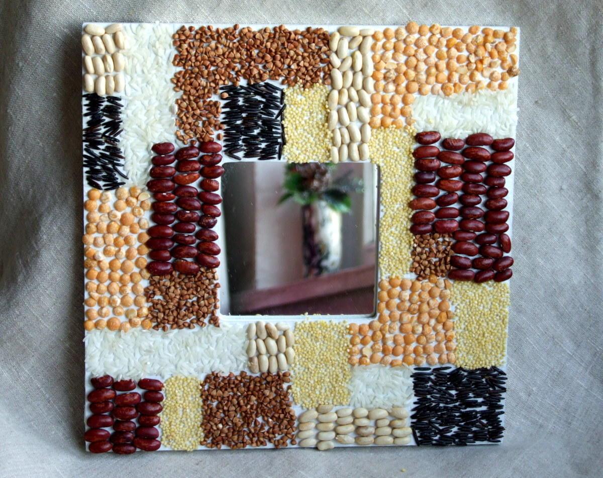Аппликации и поделки из семян и круп 90 фотографий - Pinterest 98