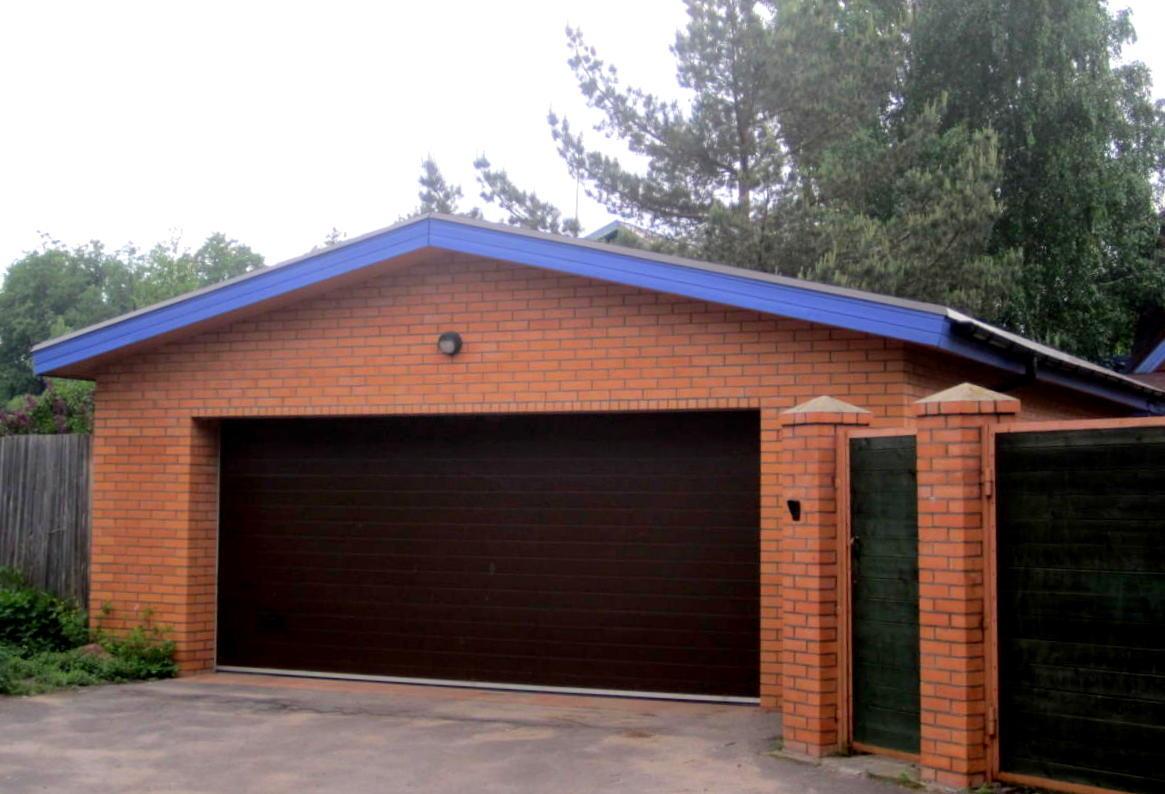 Как построить гараж на 2 машины своими руками 206