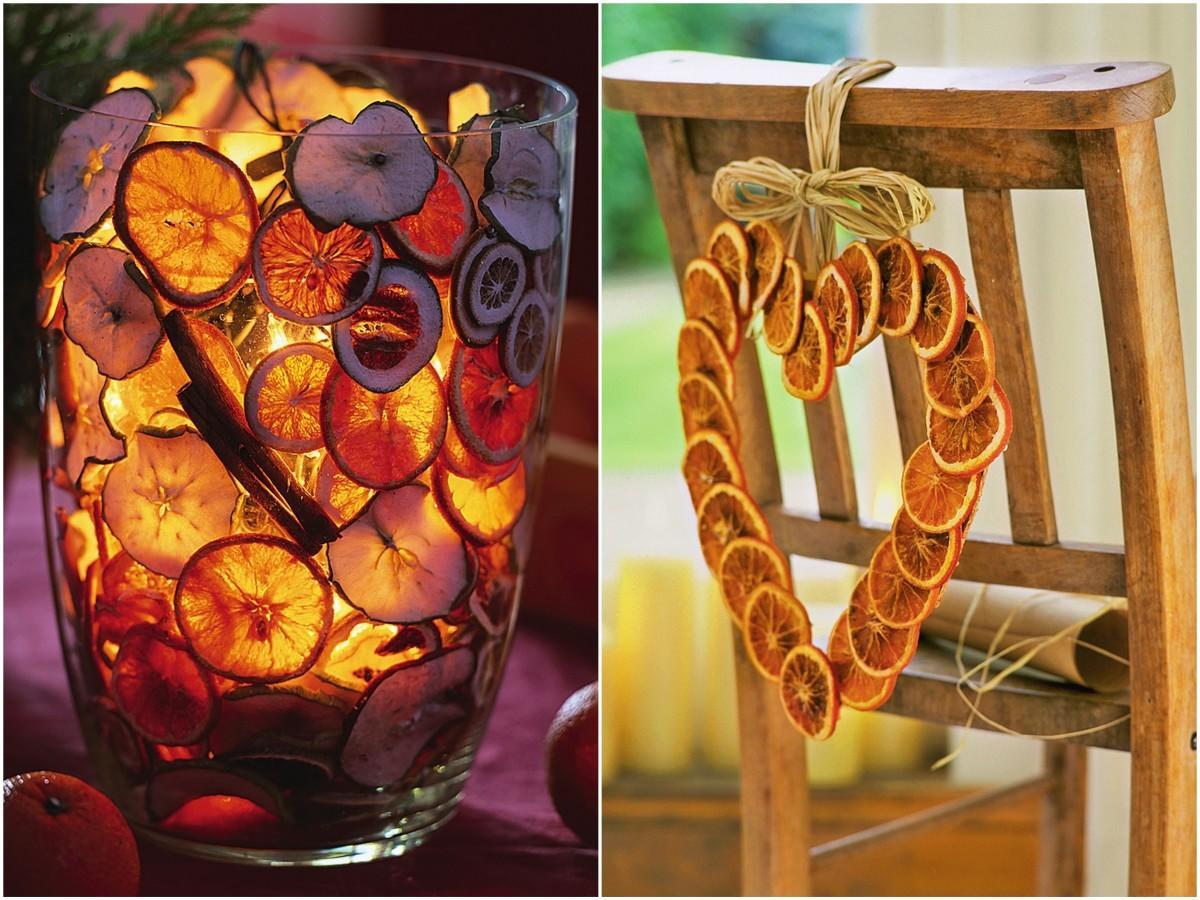 Поделки из апельсиновых корок своими руками фото