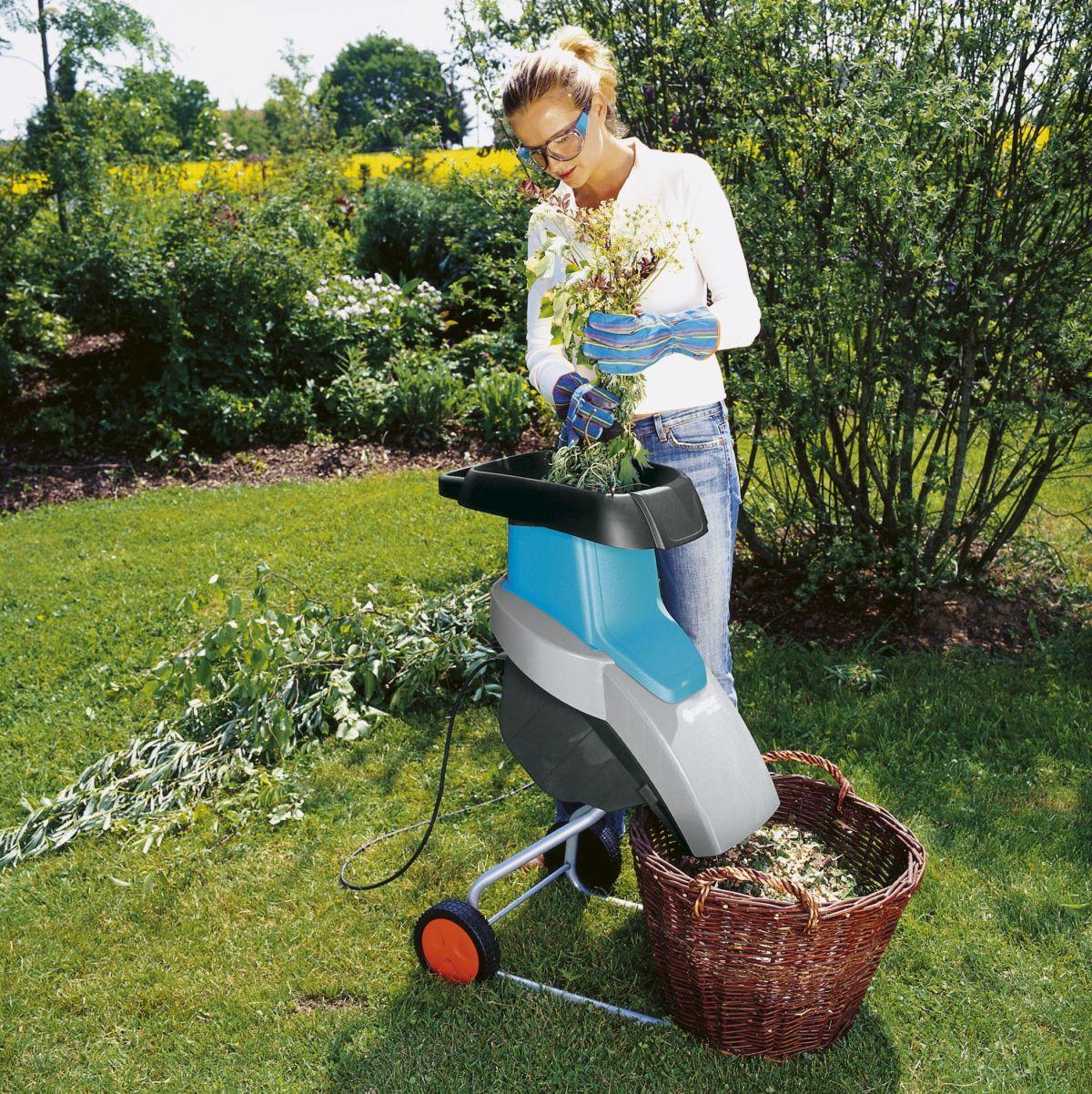 Сучкодробилка садовая своими руками
