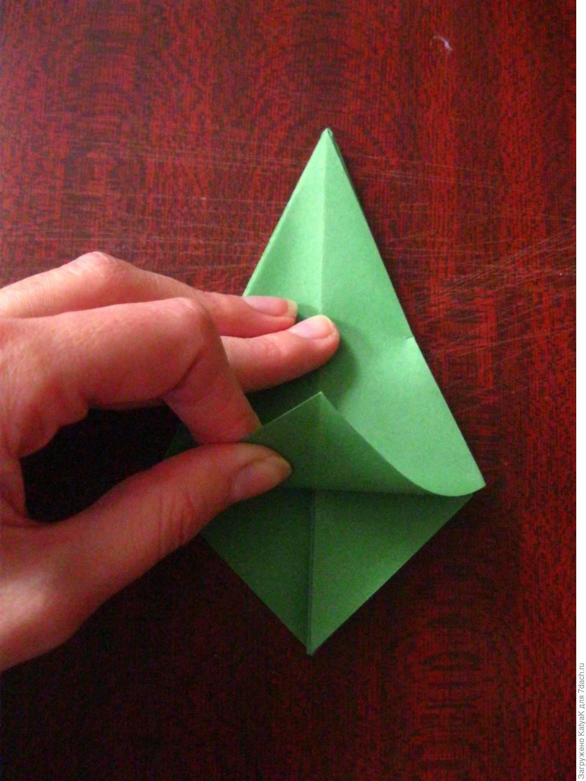 Оригами из бумаги по шаговой инструкции фото