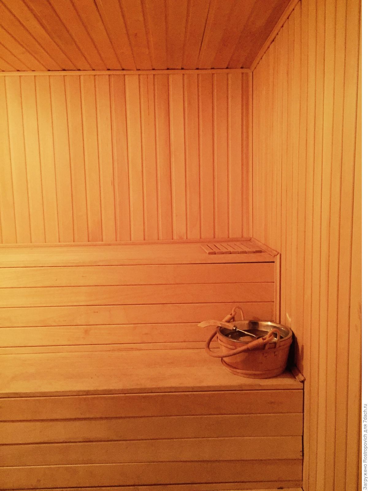 Отделка бани внутри (49 фото создаем уютную зону релакса) 27