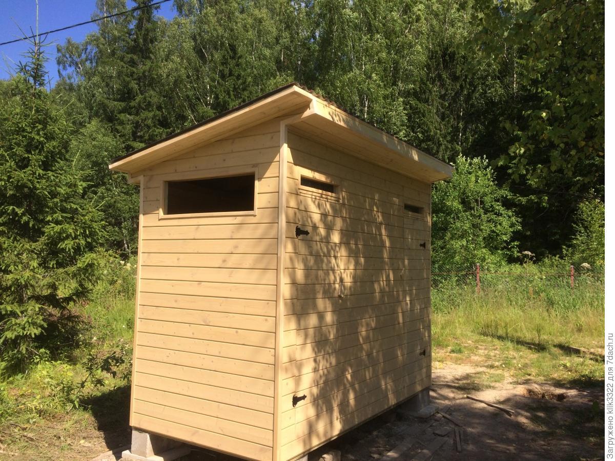 Туалет для дачи своими руками. Пошаговая инструкция 68