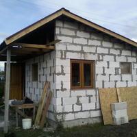 Строительство бани на новом садовом участке