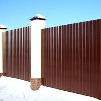 Забор из профнастила - почему именно он