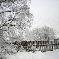 Вот такая у нас зима, а у вас какая?