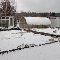 А у нас выпал первый снег
