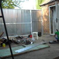 Домик из гаража