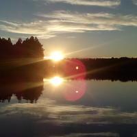Рыбалка на северной реке Волошка