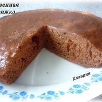 Тыквенно-шоколадная коврижка