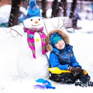 Снеговик получился отличный!