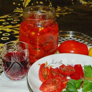 Вяленые помидорчики со своего урожая
