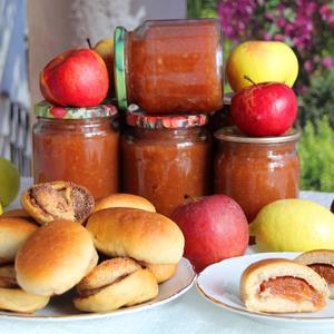 Заготовки на зиму : яблочно-цитрусовая начинка для пирогов