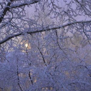 Обычное уральское явление - снег в апреле