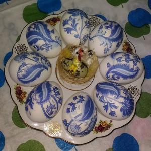 Пасхальная тарелочка