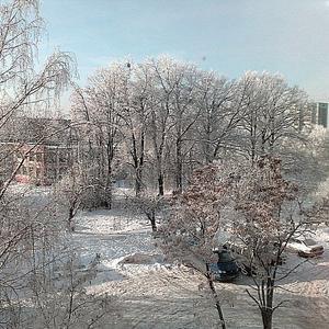 А за окном волшебница Зима