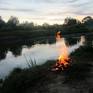 Вечер на реке Воронеж