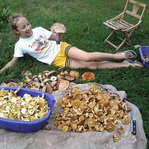 Королева грибников