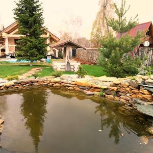 Озеро на даче