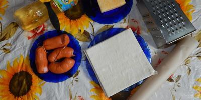 Сырные конвертики, сардельки в тесте и Олейна №1!