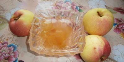 Яблочное варенье (пятиминутка)