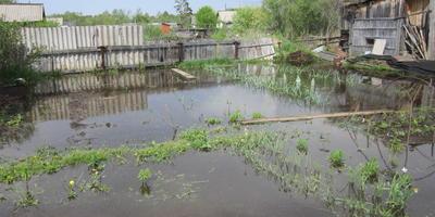 Как восстановить участок после затопления?