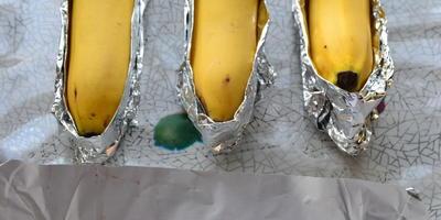 Бананы-гриль с шоколадом