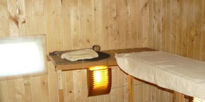 Наша Карельская банька на дровах