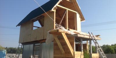 Этим летом я сделал оригинальное решение и построил второй этаж над вагончиком! Вот как это было!