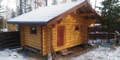 Уютная семейная баня