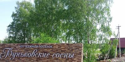 Фотографии и отзывы о коттеджном поселке «Буньковские сосны» (Ступинский р-н МО)