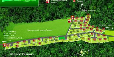 Фотографии и отзывы о коттеджном поселке «Малое Репино» (Выборгский р-н ЛО)