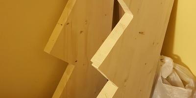 Как я сделал лестницу из подоконника
