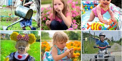 Конкурс Дети на даче-2