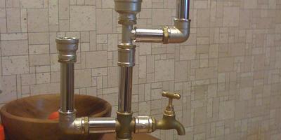 Поделки из водопроводных запчастей
