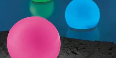 Светящиеся шары  (гаджет для бассейна и дачи)