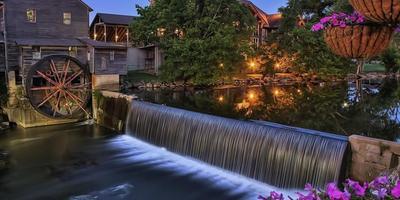 Очарование водяной мельницы