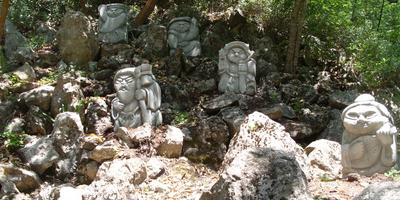 Семь японских богов счастья в Приморском парке