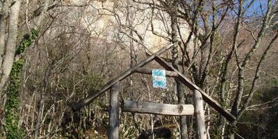 Дорога к Форосскому храму, перевал Чертова лестница (Горный Крым)