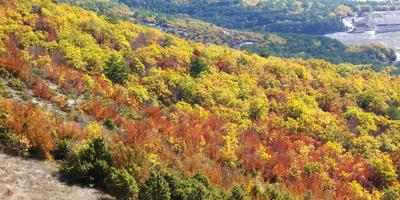 Осень в горах Крыма